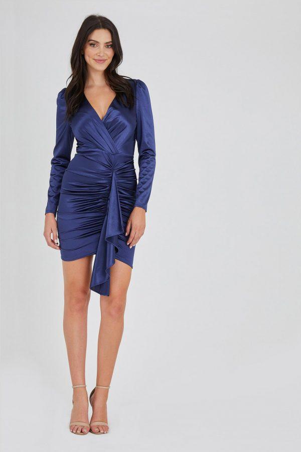 Fortune Dress Ladies Dress Colour is Navy