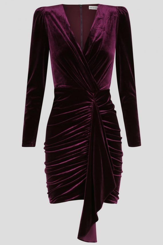 Felicity Dress Ladies Dress Colour is Purple