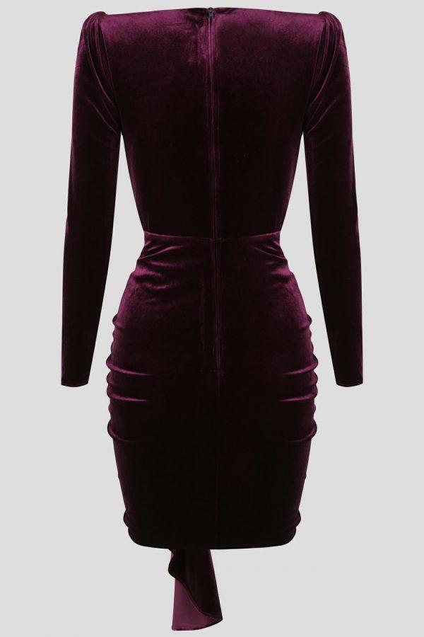 Felicity Dress Ladies Dress Colour is Purple