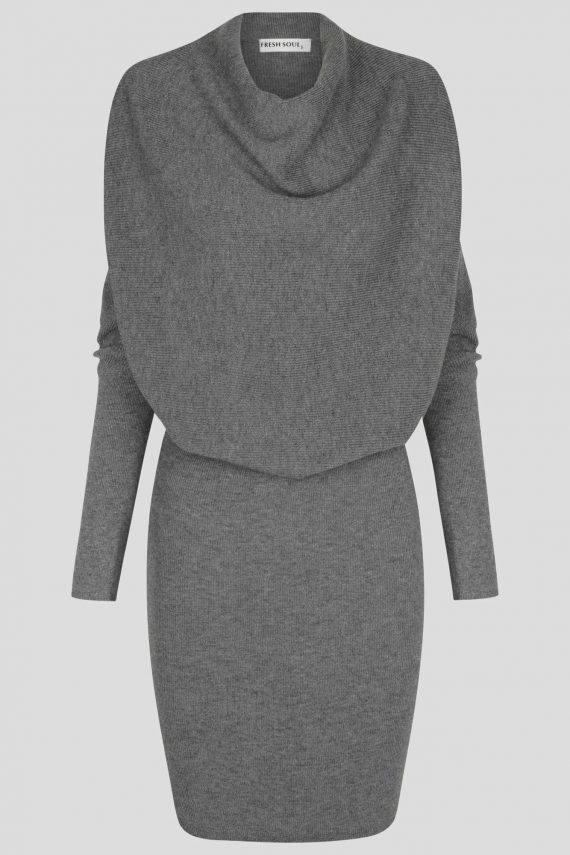 Lenox Knit Dress Ladies Dress Colour is Grey Marle