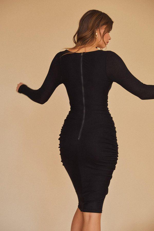 Pedra Dress Ladies Dress Colour is Black