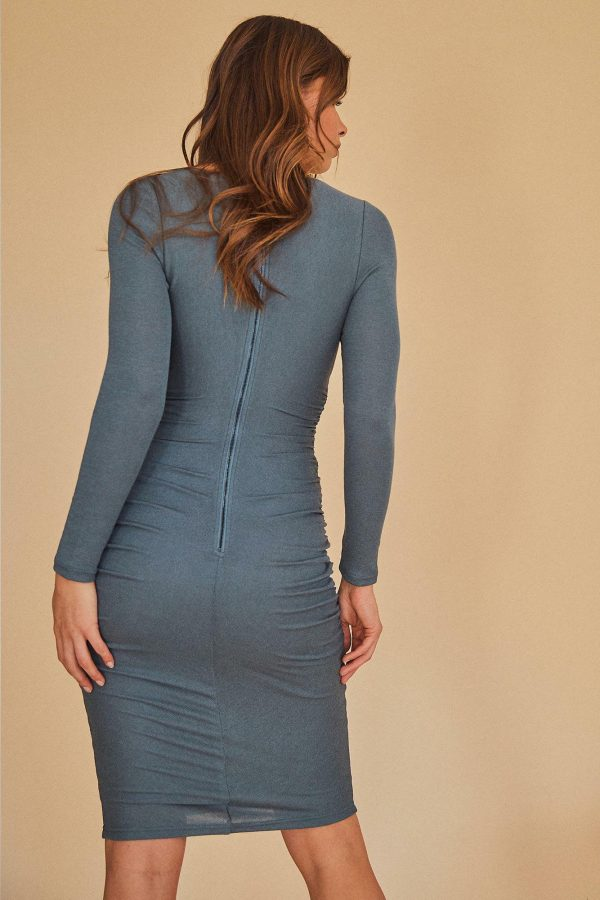 Pedra Dress Ladies Dress Colour is Sage