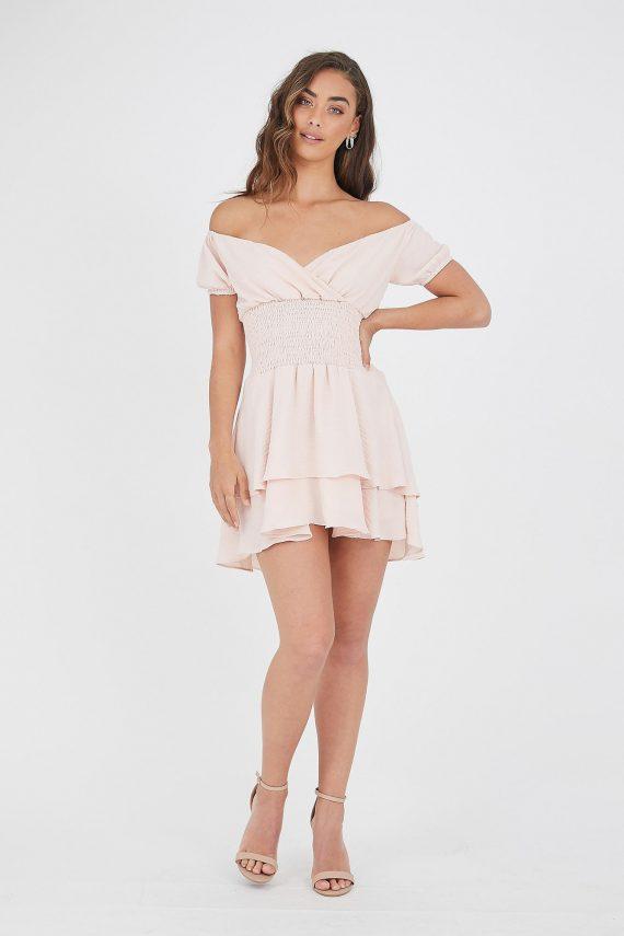 Ballena Dress Ladies Dress Colour is Blush