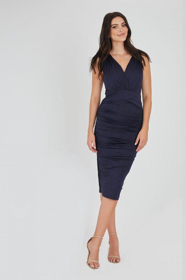Nemisis Dress Ladies Dress Colour is Navy