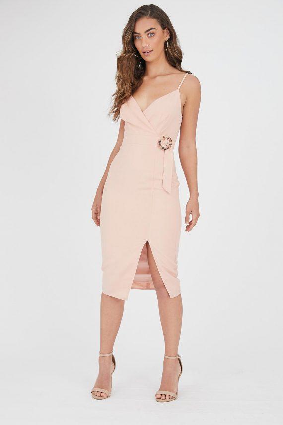 Caleta Dress Ladies Dress Colour is Blush