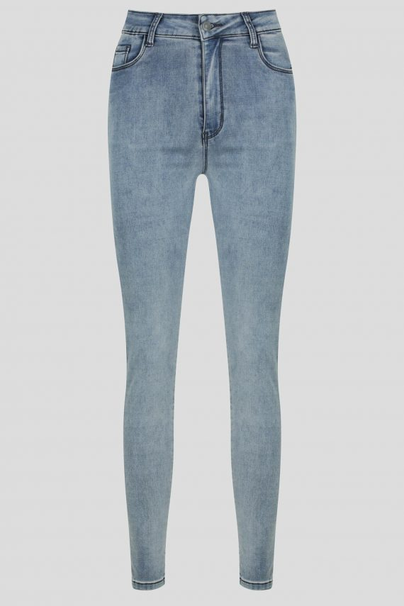 Seguro Jean Ladies Jeans Colour is Blue