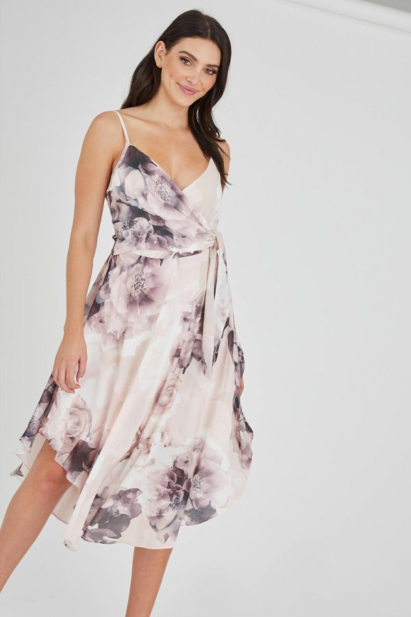 Romantic Dress Ladies Dress Colour is Romantic Bloom Print
