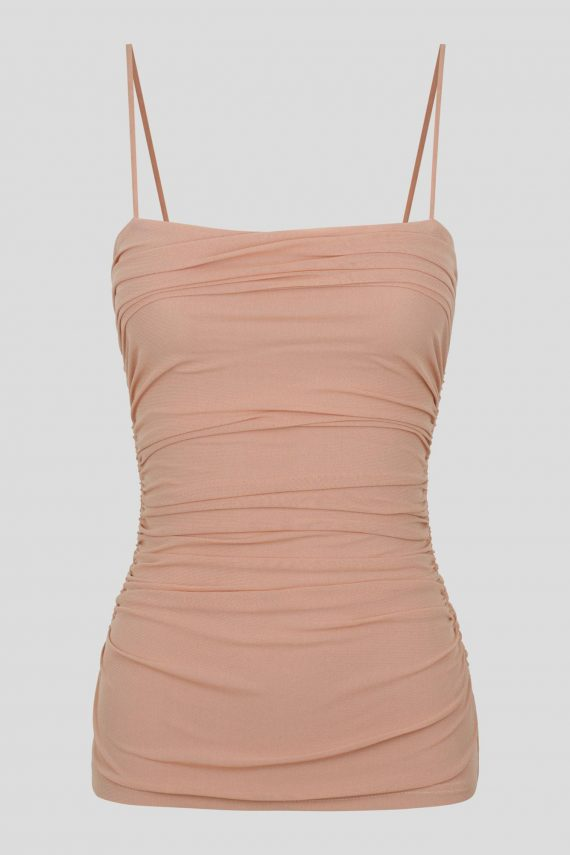 Lago Top Ladies Top Colour is Nude