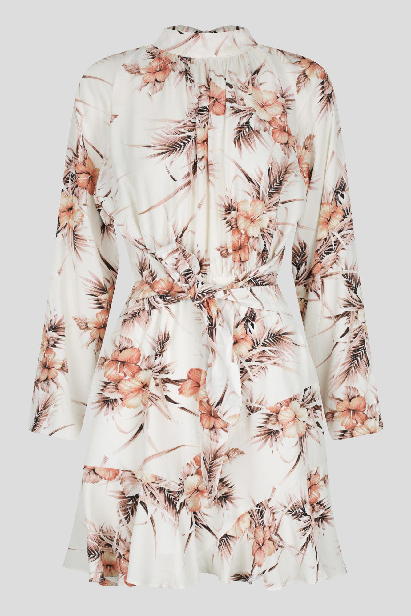 Arancia Dress Ladies Dress Colour is White Floral Print