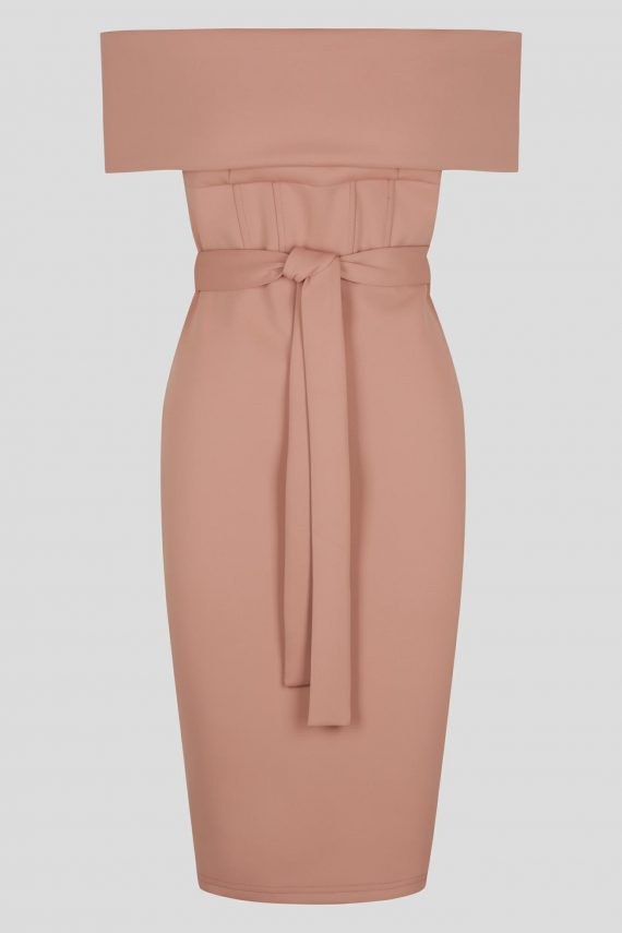 Constance Dress Ladies Dress Colour is Blush