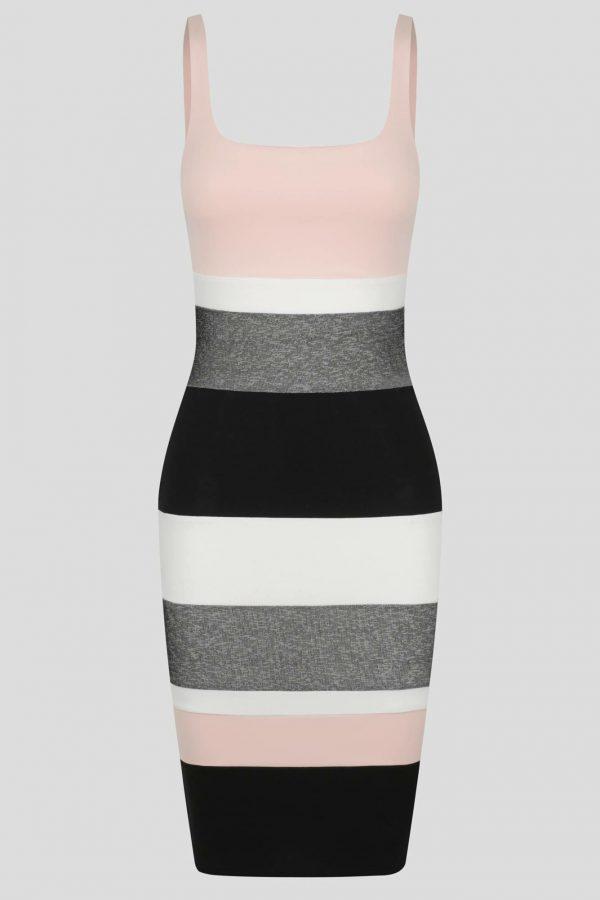 Maracana Dress Ladies Dress Colour is Multi Stripe