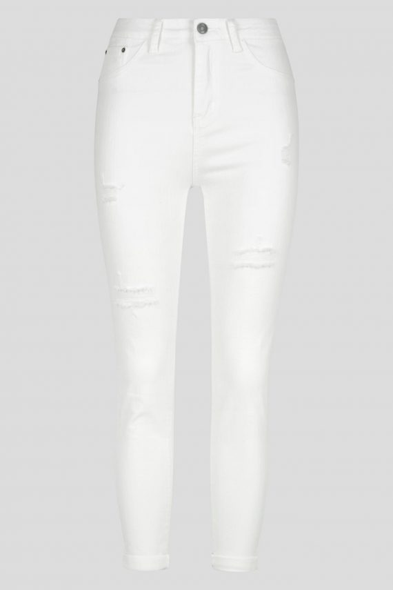 Alto Jean Ladies Jeans Colour is White