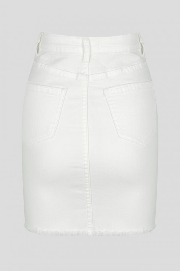 Alto Skirt Ladies Skirt Colour is White