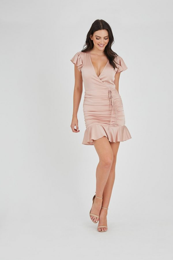 Macuma Dress Ladies Dress Colour is Blush