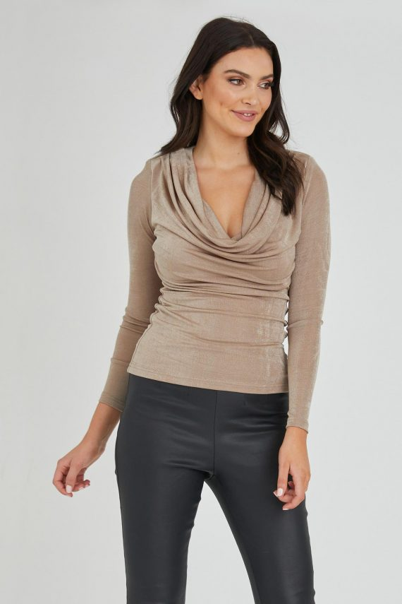 Deal Top Ladies Top Colour is Gold
