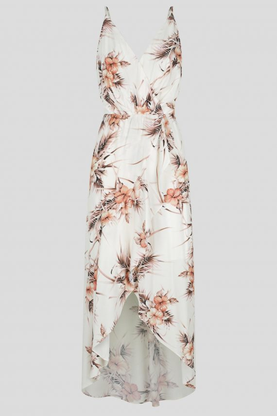 Arancia Maxi Dress Ladies Dress Colour is Blush Floral Print