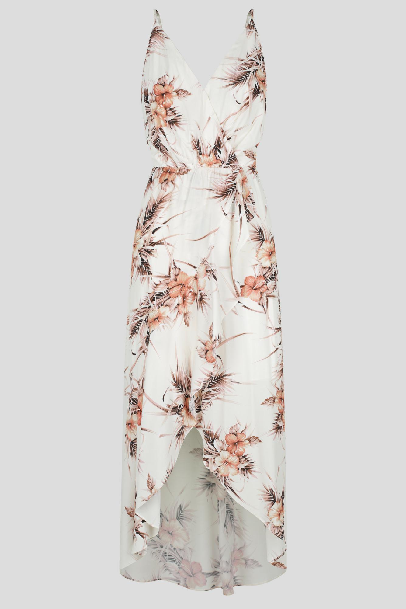 Arancia Maxi Dress Ladies Dress Colour is Blush Floral Print
