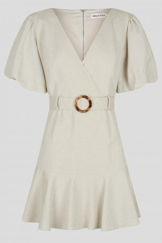 Nazare Dress Ladies Dress Colour is Beige