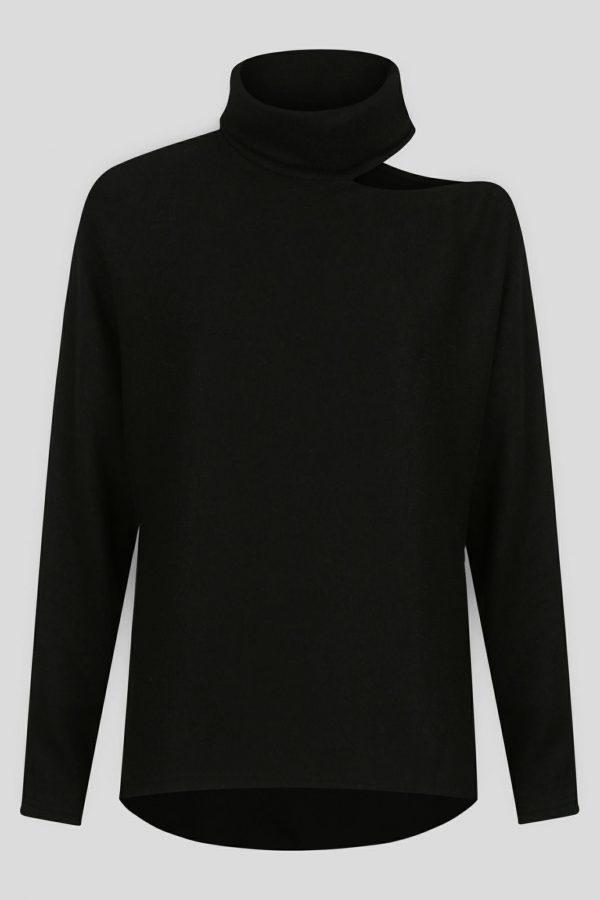 Covert Top Ladies Top Colour is Black