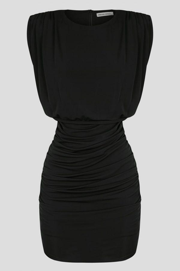 Pasmado Dress Ladies Dress Colour is Black