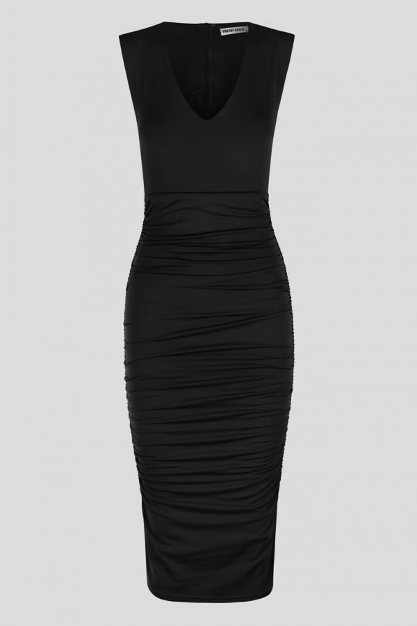 Mirila Dress Ladies Dress Colour is Black