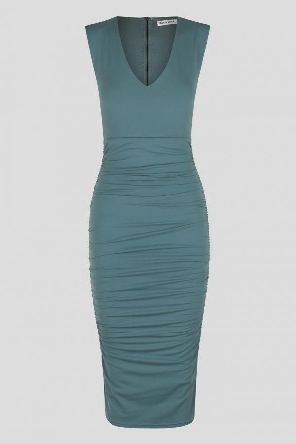 Mirila Dress Ladies Dress Colour is Sage