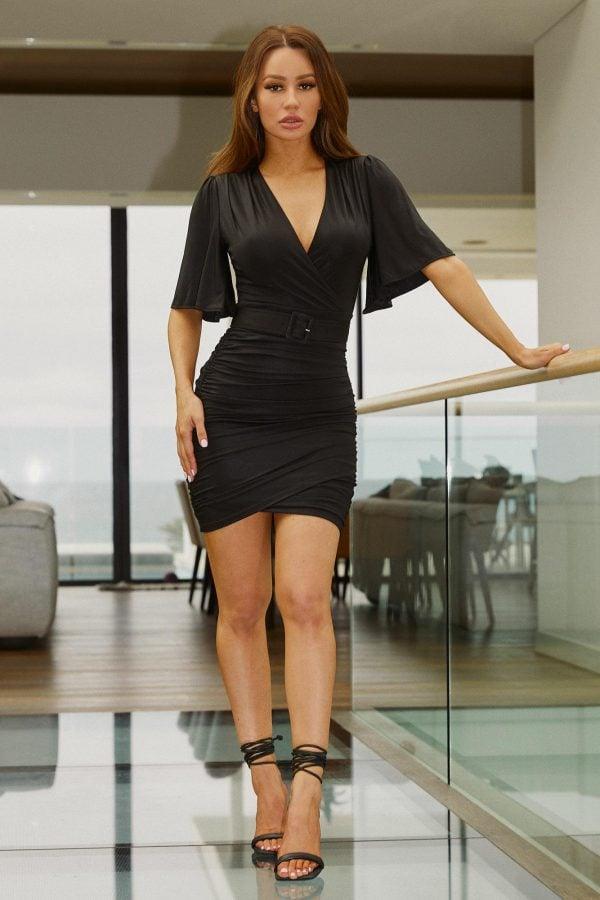 Estiva Dress Ladies Dress Colour is Black