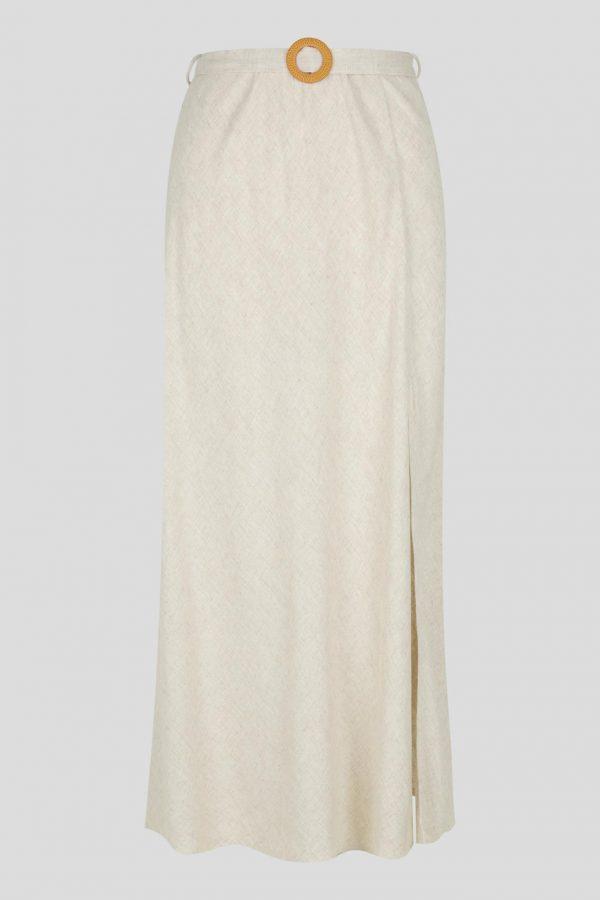 Arinos Skirt Ladies Skirt Colour is Beige