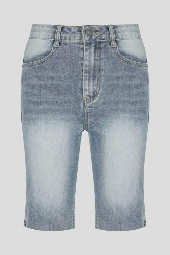 Alva Short Ladies Shorts Colour is Mid Blue