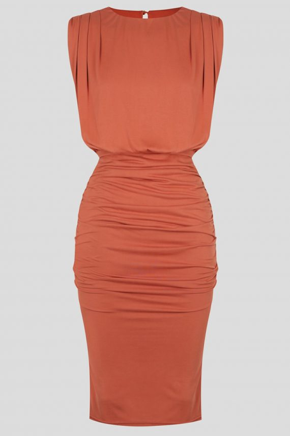 Salvador Dress Ladies Dress Colour is Copper