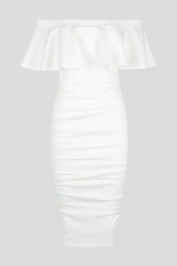 Helena Dress Ladies Dress Colour is White
