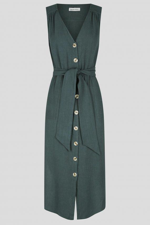 Cordia Dress Ladies Dress Colour is Green