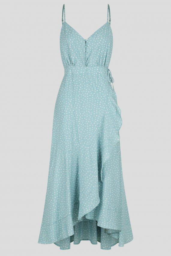 Madrona Maxi Dress Ladies Dress Colour is Mint Spot