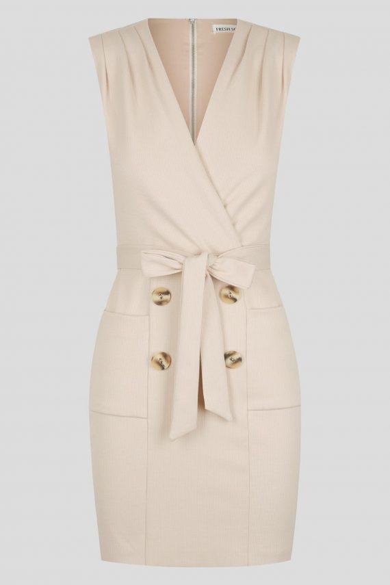 Pondosa Dress Ladies Dress Colour is Beige
