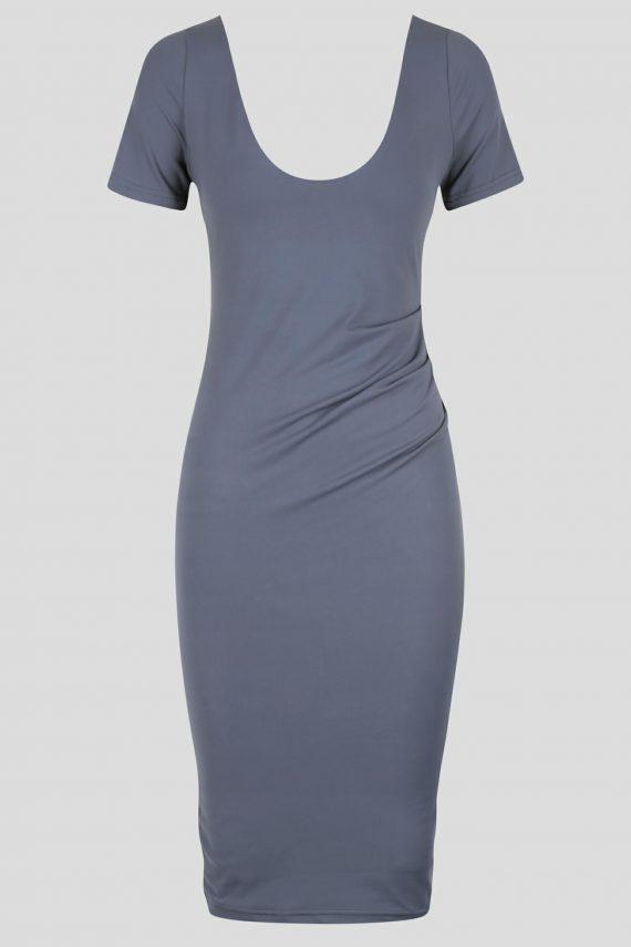 Carousel Dress Ladies Dress Colour is Steel