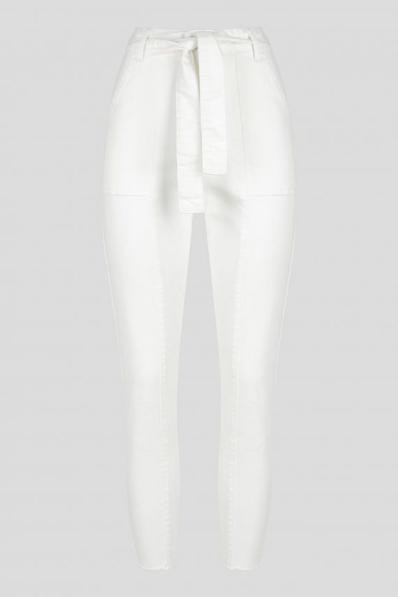 Venice Jean Ladies Jeans Colour is White