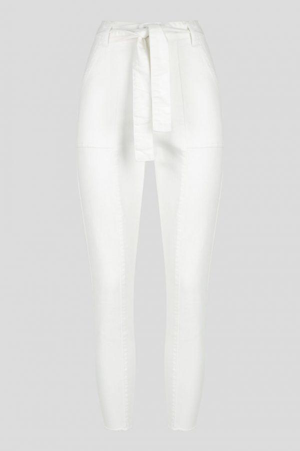 Venice Jean Ladies Jeans Colour is White