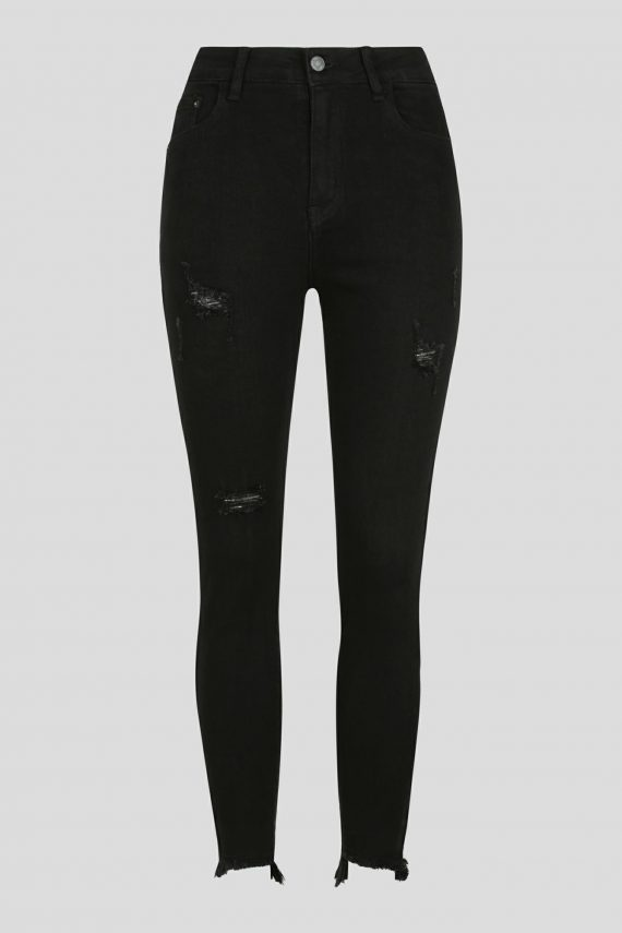Tavia Jean Ladies Jeans Colour is Black