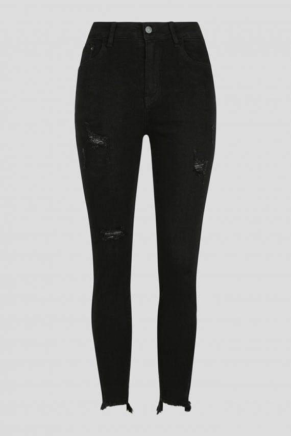 Tavia Jean Ladies Jeans Colour is Black