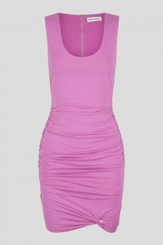 Mapari Dress Ladies Dress Colour is Lilac