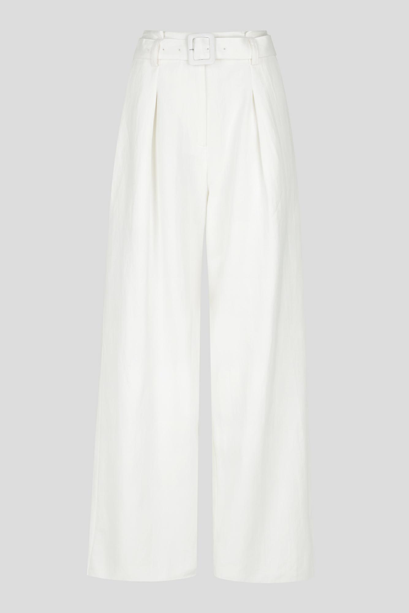 Solana Pant Ladies Pants Colour is White