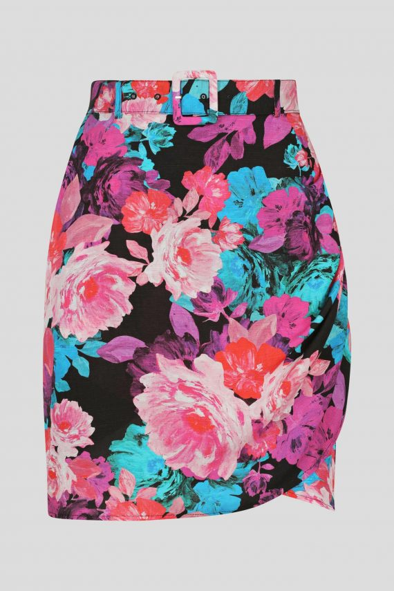 Flourish Skirt Ladies Skirt Colour is Flourishing Magenta