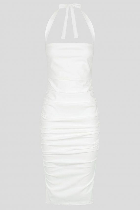 Santana Dress Ladies Dress Colour is White