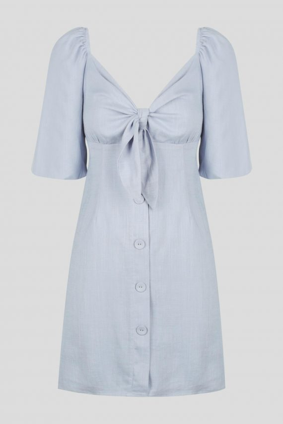 Seaside Dress Ladies Dress Colour is Chambray