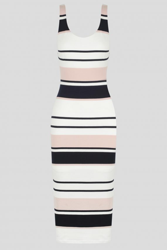Newport Dress Ladies Dress Colour is Stripe