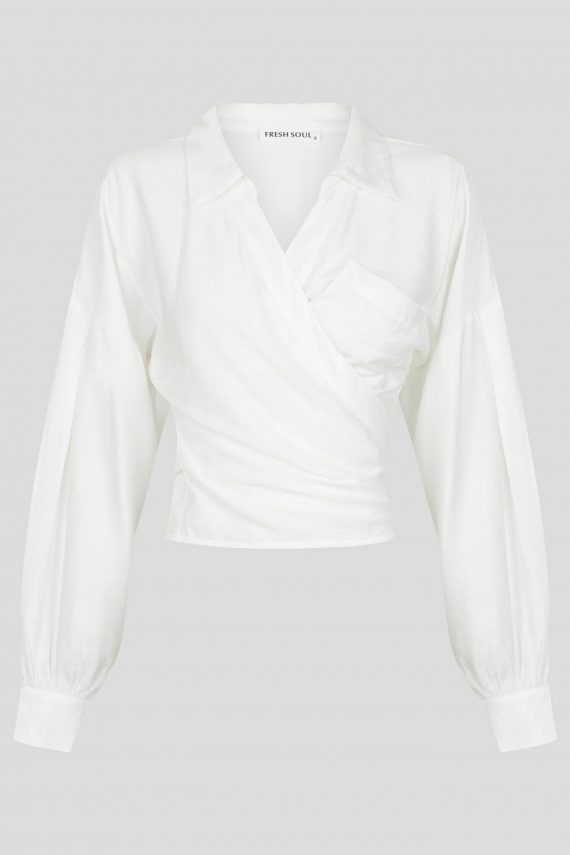 Amrose Top Ladies Top Colour is White