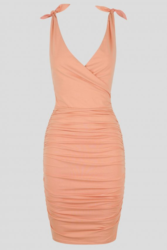 Sunrise Bay Dress Ladies Dress Colour is Peach