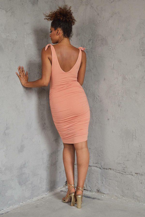 Sunrise Bay Dress Ladies Dress Colour is Peach
