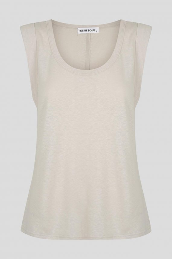 Hills Top Ladies Top Colour is Beige