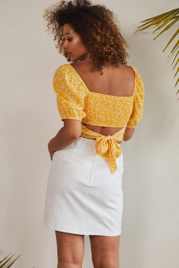 Tangara Skirt Ladies Skirt Colour is White